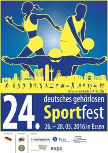 Plakat des Sportfestes